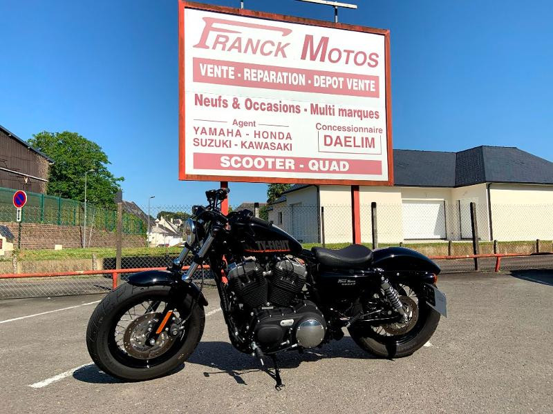 Harley-Davidson Sportster 1200 X Forty-Eight Essence NOIRE Occasion à vendre