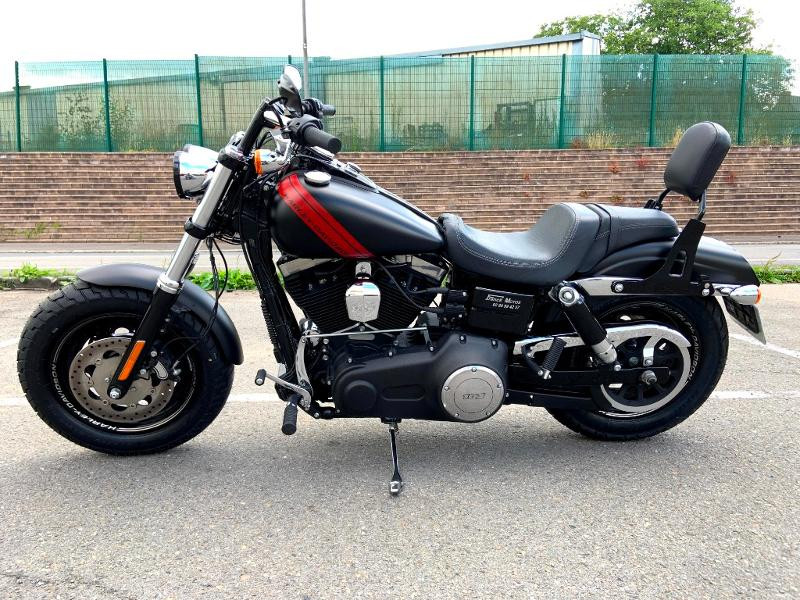 Photo 5 de l'offre de HARLEY-DAVIDSON Dyna Fat Bob 1690 1ERE MAIN à 14890€ chez Franck motos