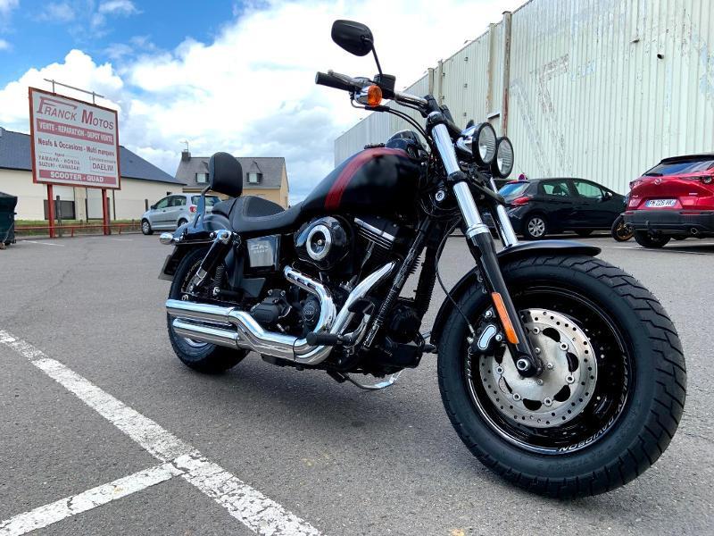 Photo 2 de l'offre de HARLEY-DAVIDSON Dyna Fat Bob 1690 1ERE MAIN à 14890€ chez Franck motos