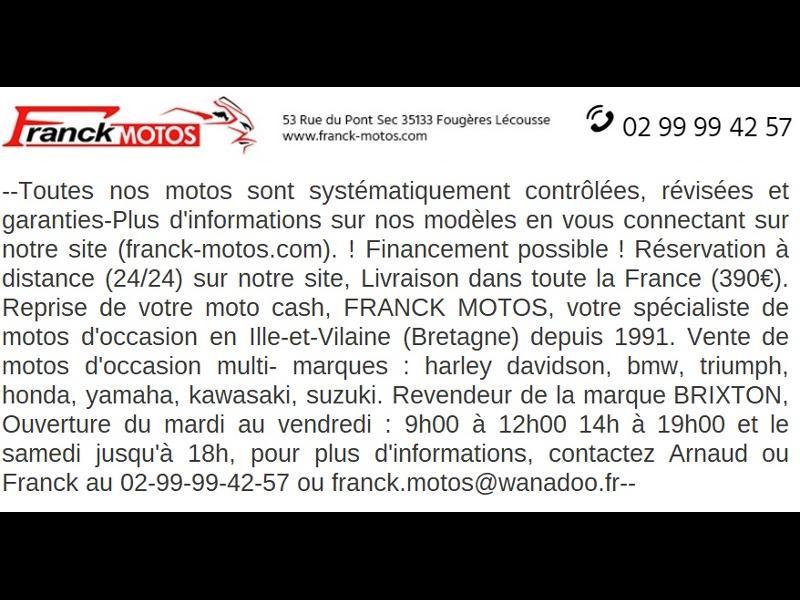 Photo 13 de l'offre de HARLEY-DAVIDSON Dyna Fat Bob 1690 1ERE MAIN à 14890€ chez Franck motos