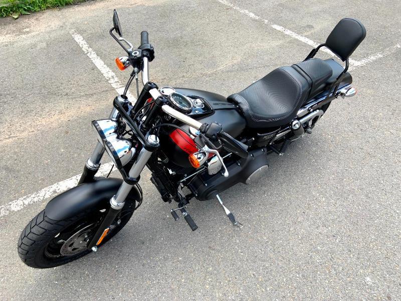 Photo 7 de l'offre de HARLEY-DAVIDSON Dyna Fat Bob 1690 1ERE MAIN à 14890€ chez Franck motos