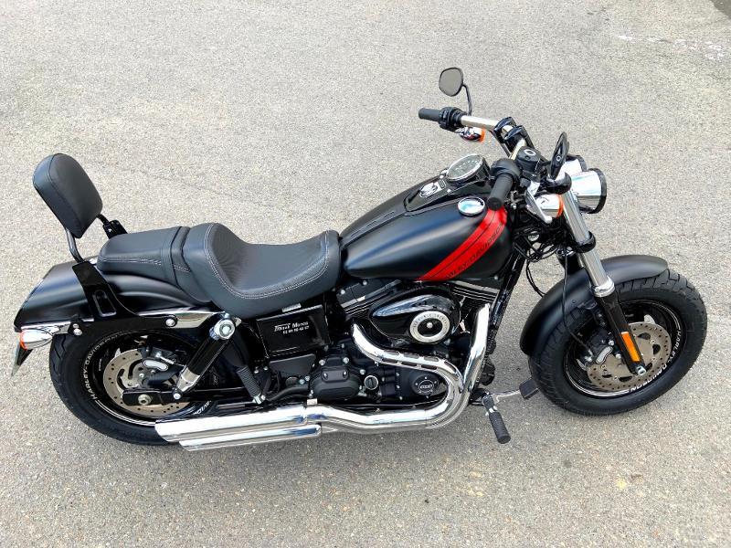Photo 4 de l'offre de HARLEY-DAVIDSON Dyna Fat Bob 1690 1ERE MAIN à 14890€ chez Franck motos