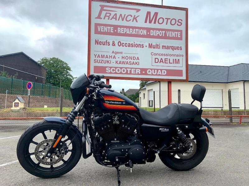 Harley-Davidson 1200 IRON STAGE 1 1ERE MAIN Essence BLEU FONCE Occasion à vendre