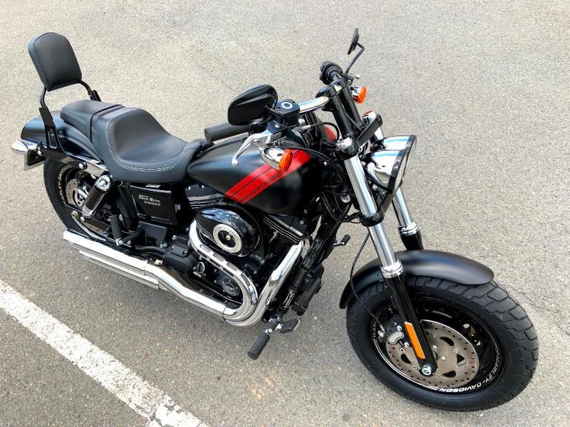 Photo 3 de l'offre de HARLEY-DAVIDSON Dyna Fat Bob 1690 1ERE MAIN à 14890€ chez Franck motos