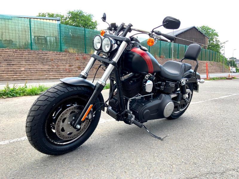 Photo 6 de l'offre de HARLEY-DAVIDSON Dyna Fat Bob 1690 1ERE MAIN à 14890€ chez Franck motos