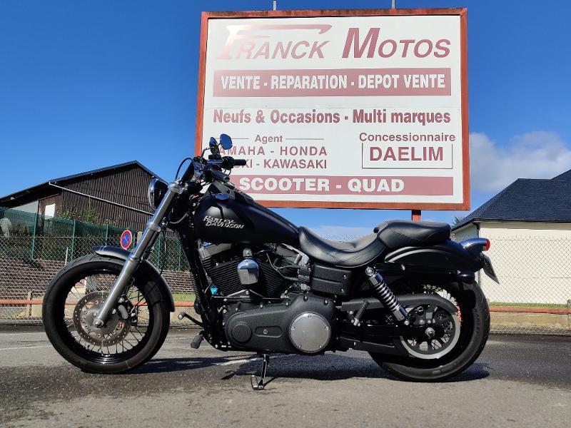 Photo 1 de l'offre de HARLEY-DAVIDSON Dyna Street Bob 1584 STAGE 1 à 11490€ chez Franck motos