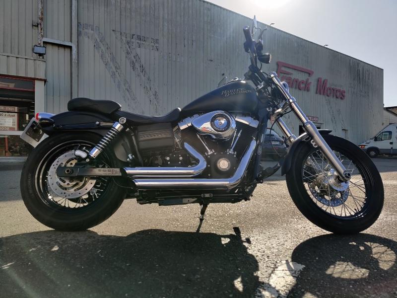 Photo 5 de l'offre de HARLEY-DAVIDSON Dyna Street Bob 1584 STAGE 1 à 11490€ chez Franck motos