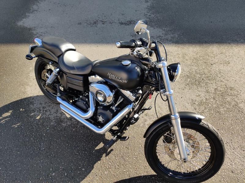 Photo 8 de l'offre de HARLEY-DAVIDSON Dyna Street Bob 1584 STAGE 1 à 11490€ chez Franck motos