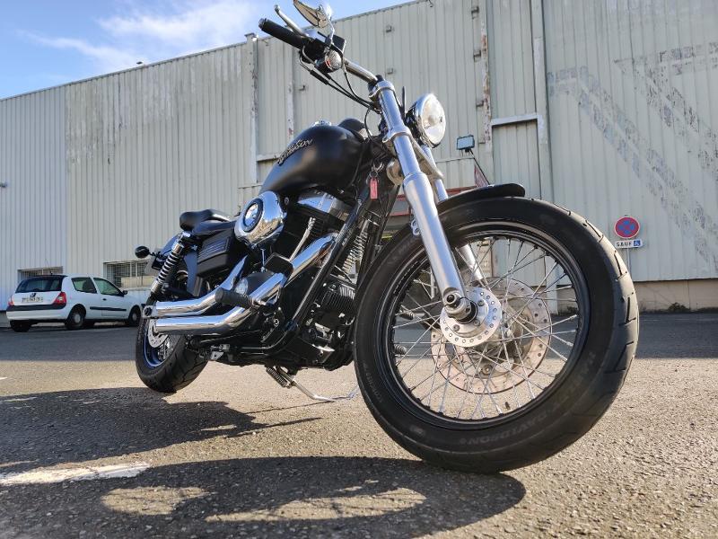 Photo 7 de l'offre de HARLEY-DAVIDSON Dyna Street Bob 1584 STAGE 1 à 11490€ chez Franck motos