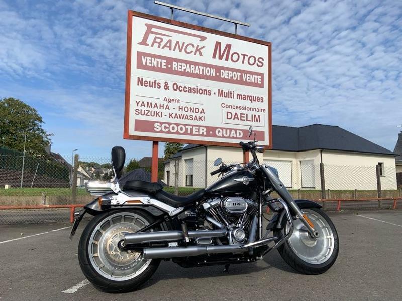 Photo 5 de l'offre de HARLEY-DAVIDSON Softail Fat Boy 114 à 21490€ chez Franck motos