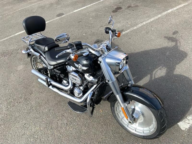 Photo 7 de l'offre de HARLEY-DAVIDSON Softail Fat Boy 114 à 21490€ chez Franck motos