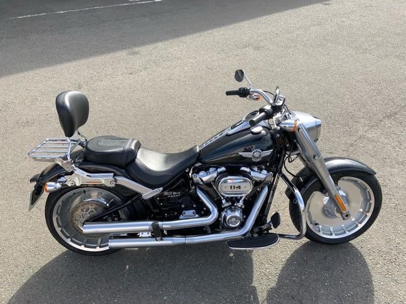 Photo 8 de l'offre de HARLEY-DAVIDSON Softail Fat Boy 114 à 21490€ chez Franck motos