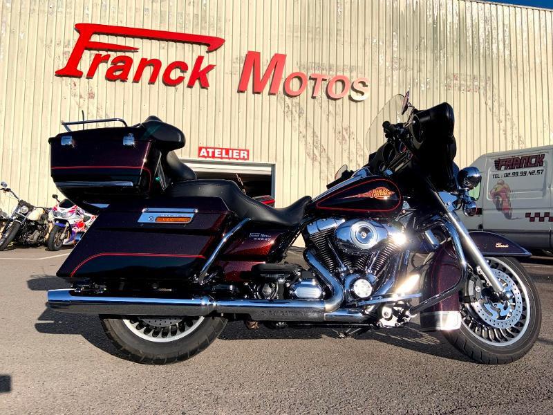 Harley-Davidson Electra GLIDE CLASSIC ABS Essence NOIRE/MARRON Occasion à vendre