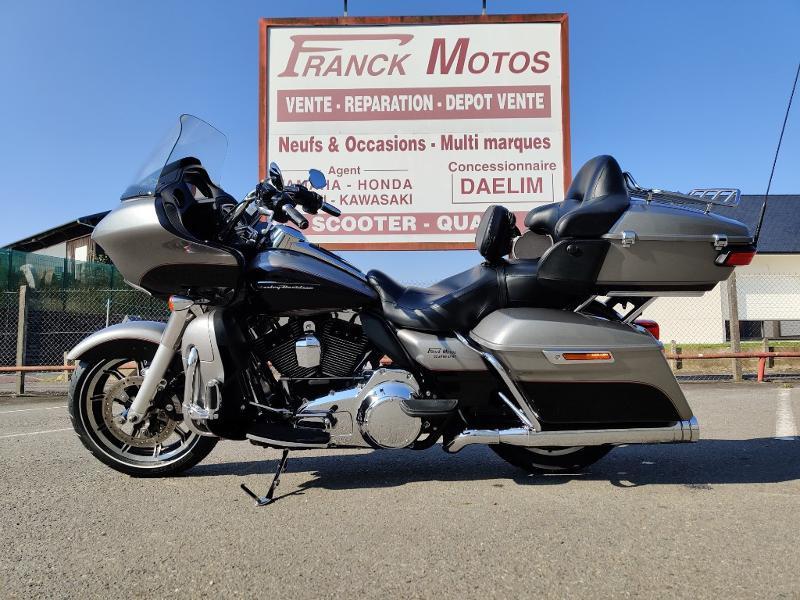 Harley-Davidson Road Glide Ultra 1ERE MAIN STAGE 1 Essence BILLET SILVER/VIVID BLACK Occasion à vendre
