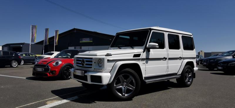 Mercedes-Benz CLASSE G 500 421CH BREAK LONG 7G-TRONIC + Essence BLANC Occasion à vendre