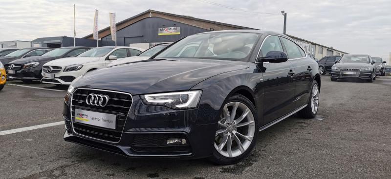 Audi A5 SPORTBACK 2.0 TDI 190CH CLEAN DIESEL AMBITION LUXE QUATTRO S TRONIC 7 EURO6 Diesel BLEU Occasion à vendre