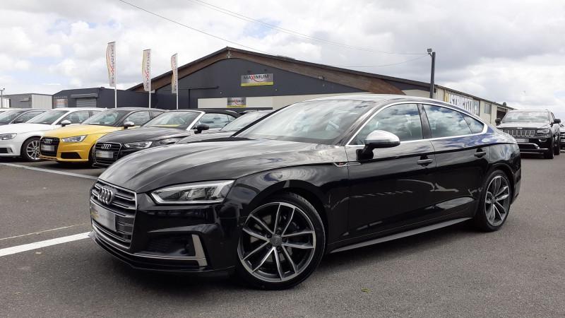 Audi S5 SPORTBACK 3.0 V6 TFSI 354CH QUATTRO TIPTRONIC 8 Essence NOIR Occasion à vendre
