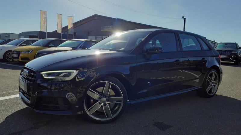 Audi S3 SPORTBACK 2.0 TFSI 310CH QUATTRO S TRONIC 7 Essence NOIR Occasion à vendre