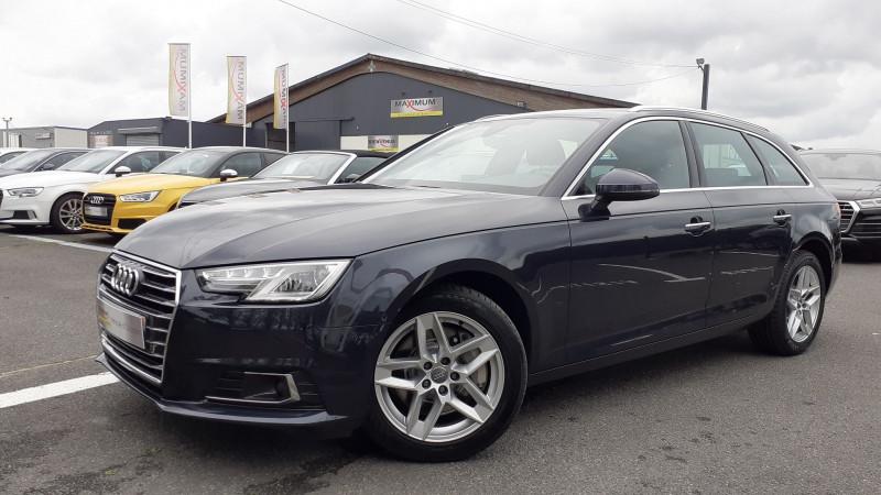 Audi A4 AVANT 2.0 TFSI 252CH ULTRA DESIGN S TRONIC 7 Essence BLEU Occasion à vendre