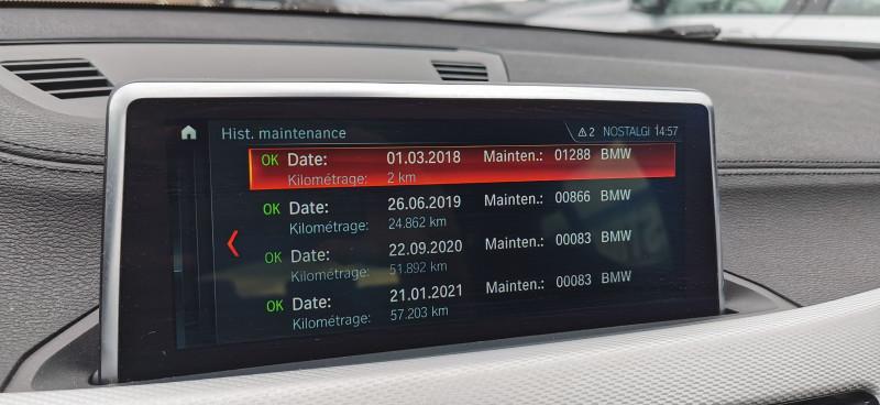 Photo 26 de l'offre de BMW X2 XDRIVE25DA 231CH M SPORT à 37990€ chez Maximum Automobiles