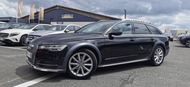 Audi A6 ALLROAD 3.0 V6 TDI 218CH AMBITION LUXE QUATTRO S TRONIC 7 Diesel NOIR Occasion à vendre