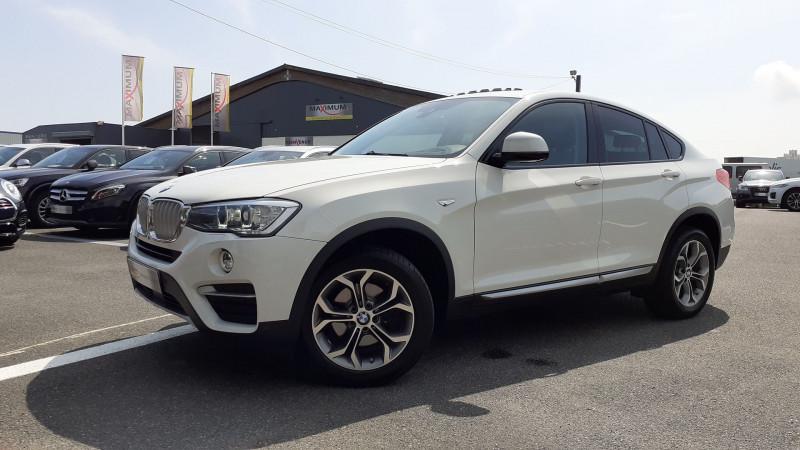 Bmw X4 (F26) XDRIVE20DA 190CH XLINE Diesel BLANC Occasion à vendre