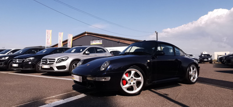 Porsche 911 COUPE (993) 285CH CARRERA 4S BV6 Essence NOIR Occasion à vendre