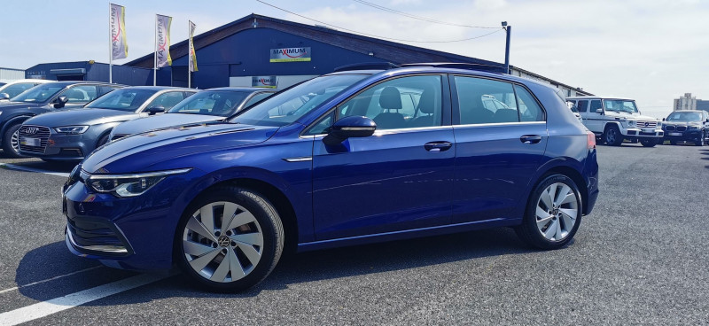 Volkswagen GOLF VIII 1.5 ETSI OPF 150CH STYLE 1ST DSG7 Essence BLEU Occasion à vendre