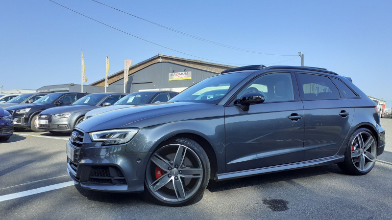 Audi S3 SPORTBACK 2.0 TFSI 310CH QUATTRO S TRONIC 7 Essence GRIS Occasion à vendre