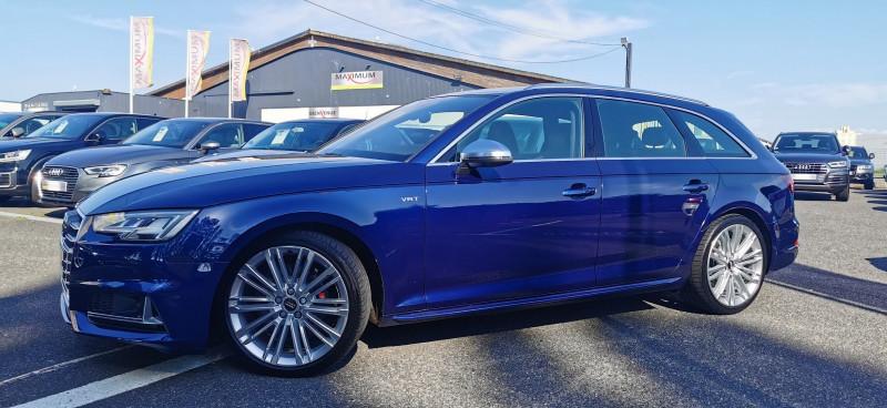 Audi S4 AVANT 3.0 V6 TFSI 354CH QUATTRO TIPTRONIC 8 Essence BLEU Occasion à vendre