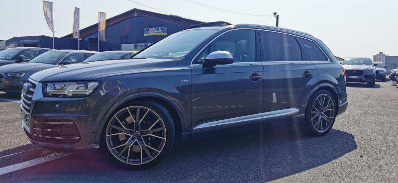Audi SQ7 4.0 V8 TDI 435CH CLEAN DIESEL QUATTRO TIPTRONIC 5 PLACES Diesel GRIS Occasion à vendre