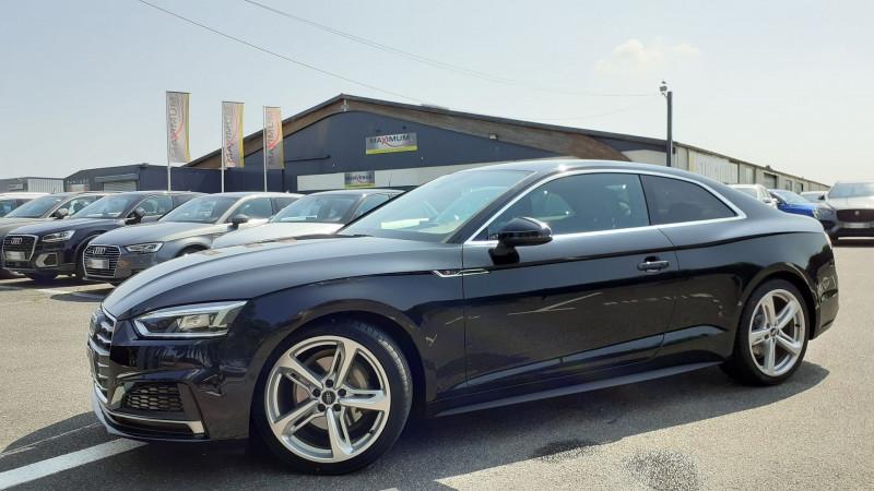 Audi A5 3.0 TDI 218CH S LINE QUATTRO S TRONIC 7 Diesel NOIR Occasion à vendre
