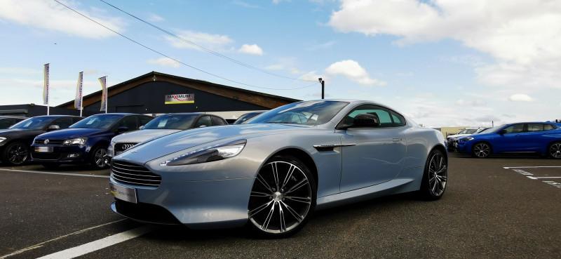 Aston Martin DB9 COUPE V12 5.9 517CH TOUCHTRONIC II Essence BLEU Occasion à vendre
