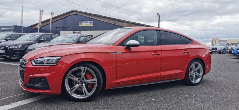 Audi S5 SPORTBACK 3.0 V6 TFSI 354CH QUATTRO TIPTRONIC 8 Essence ROUGE Occasion à vendre