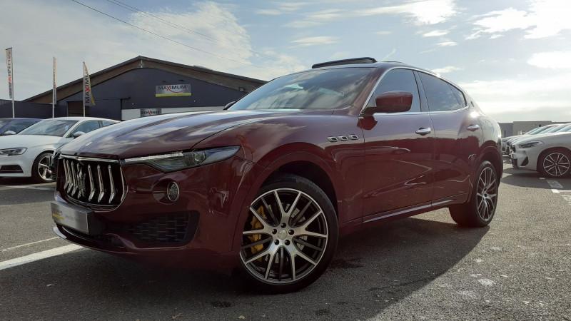 Maserati LEVANTE 3.0 V6 430CH S Q4 Essence ROUGE Occasion à vendre