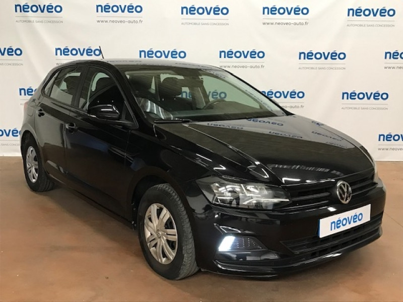 Volkswagen POLO 1.0 75CH FIRST EDITION Essence NOIR Occasion à vendre