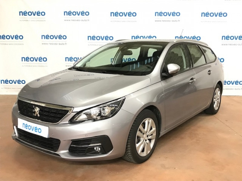 Peugeot 308 SW 1.2 PURETECH 130CH E6.C S&S ACTIVE BUSINESS EAT8 Essence GRIS ARTENSE Occasion à vendre