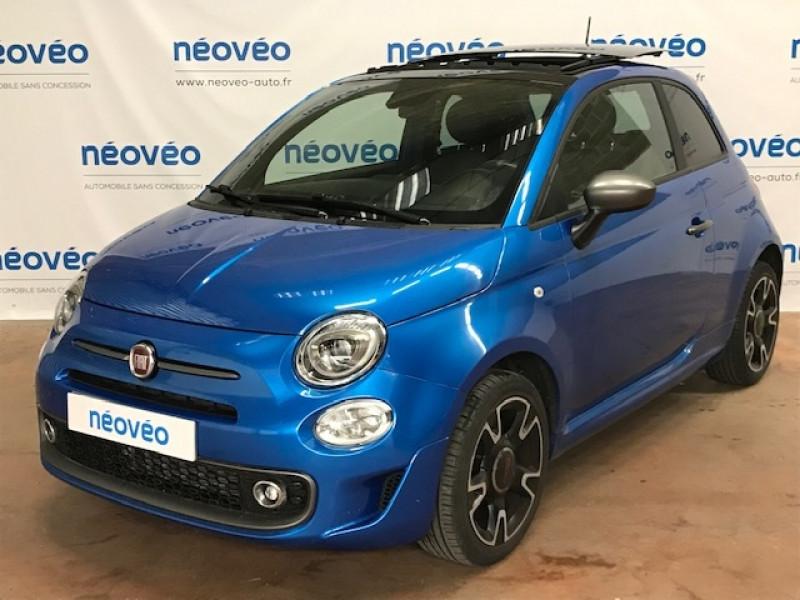 Fiat 500 1.2 8V 69CH S&S S EURO6D Essence BLEU ITALIE Occasion à vendre
