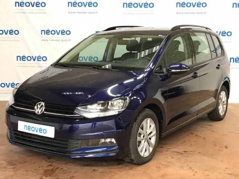 Volkswagen TOURAN 1.0 TSI 115CH TRENDLINE 7 PLACES EURO6D-T Essence BLEU ATLANTIQUE Occasion à vendre