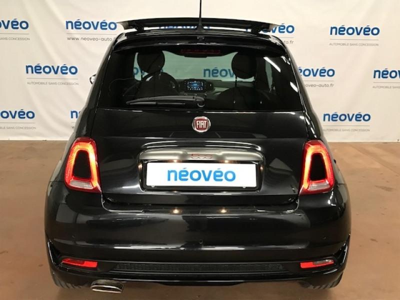 Photo 4 de l'offre de FIAT 500 1.2 8V 69CH S&S S EURO6D à 12990€ chez NEOVEO