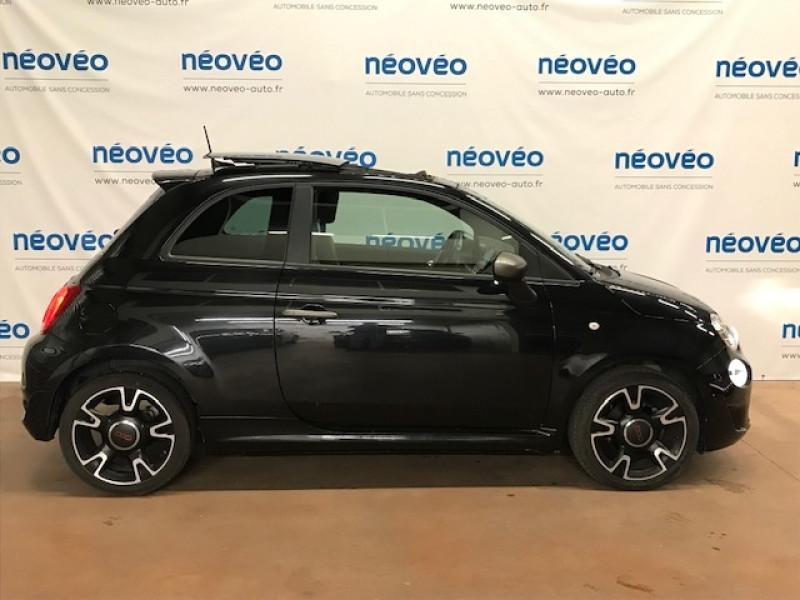 Photo 2 de l'offre de FIAT 500 1.2 8V 69CH S&S S DUALOGIC EURO6D à 14490€ chez NEOVEO