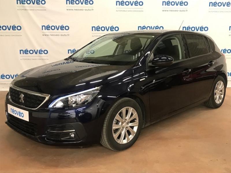 Peugeot 308 1.5 BLUEHDI 100CH E6.C S&S STYLE Diesel BLEU ENCRE Occasion à vendre