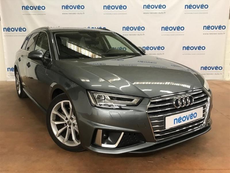 Audi A4 AVANT 35 TDI 150CH DESIGN S TRONIC 7 EURO6D-T Diesel GRIS MONZON Occasion à vendre
