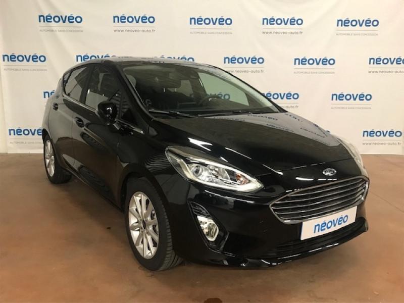 Ford FIESTA 1.0 ECOBOOST 100CH STOP&START TITANIUM 5P EURO6.2 Essence NOIR Occasion à vendre