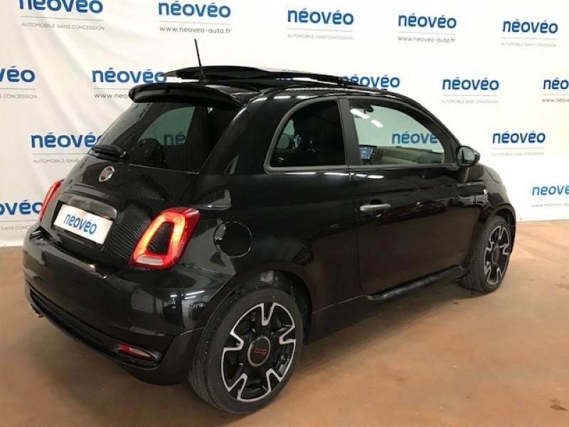 Photo 3 de l'offre de FIAT 500 1.2 8V 69CH S&S S EURO6D à 12990€ chez NEOVEO