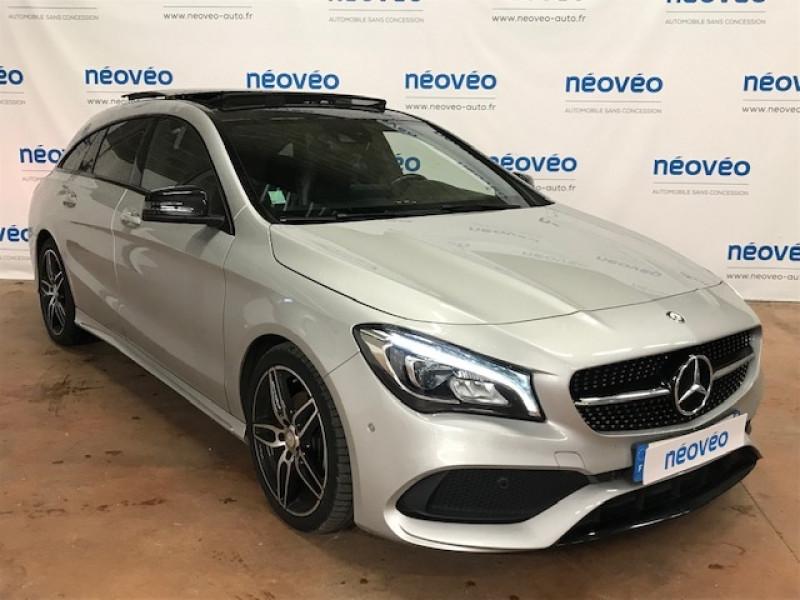 Mercedes-Benz CLA 200 D FASCINATION 7G-DCT Diesel GRIS Occasion à vendre