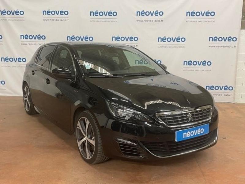 Peugeot 308 1.6 THP 205CH GT S&S 5P Essence NOIR Occasion à vendre