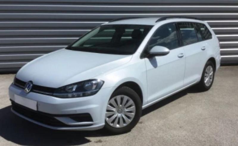 Volkswagen GOLF VII SW 1.6 TDI 110CH BLUEMOTION TECHNOLOGY FAP TRENDLINE BUSINESS Diesel WHITE SILVER Occasion à vendre
