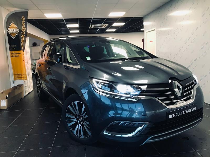 Renault Espace 2.0 Blue dCi 200ch Initiale Paris EDC 7 Places Diesel Gris Foncé Métal Occasion à vendre