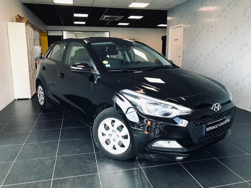 Hyundai i20 1.1 CRDi 75 Intuitive Diesel NOIR Occasion à vendre